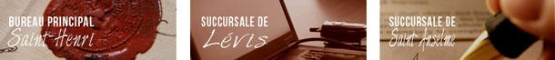 Notaires à Saint-Henri, Lévis et Saint-Anselme